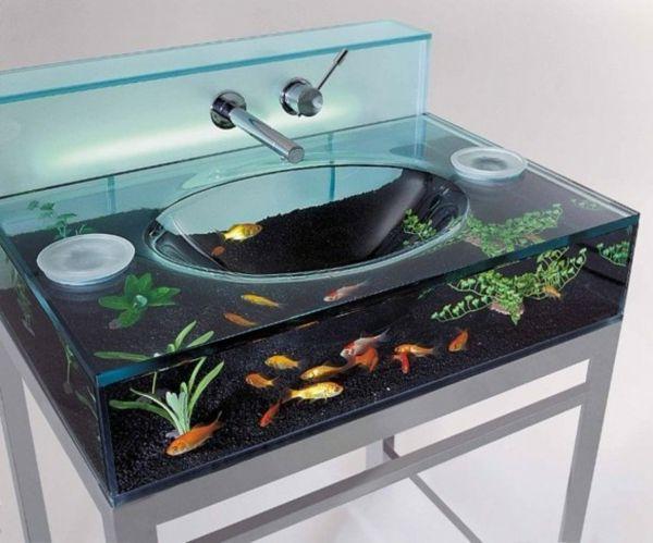 badmbel modern glaswaschbecken moderne waschbecken - Badmobel Modern