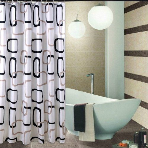 Best Service Cheap Price Thick Fabric Waterproof Polyester Shower Curtain  Mildew Color Box Storeson    Learn More By Visiting The Image Link.