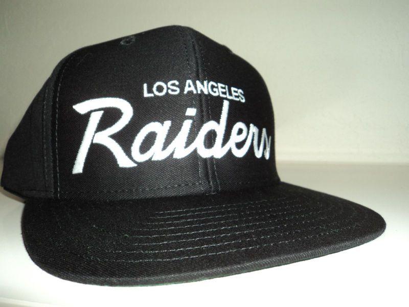 La Raiders Snapback Hat Retro Script Los Angeles Oakland La Cap L A Hats Snapback Hats Snapback