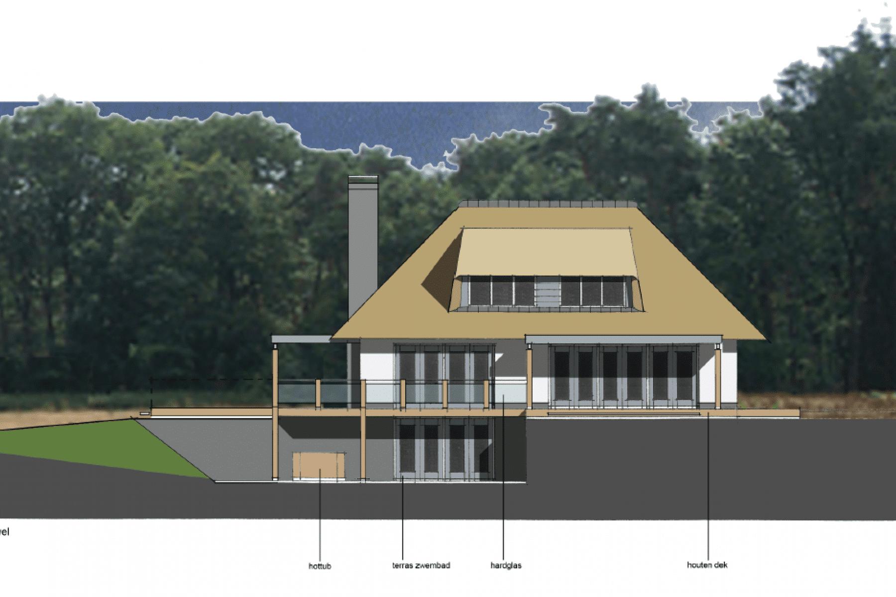 Moderne rietgedekte villa ontwerpen villa s villas