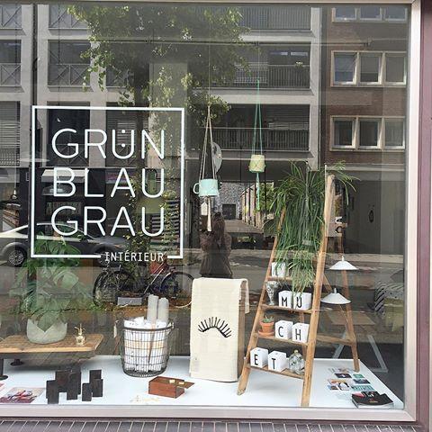 Gruen Blau Grau Interieur Shopping in Köln - Liebe Deine Stadt ...