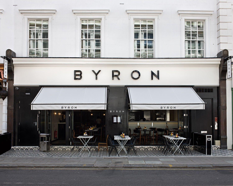 Byron Burgers London Pop Up Shop Pinterest Shop