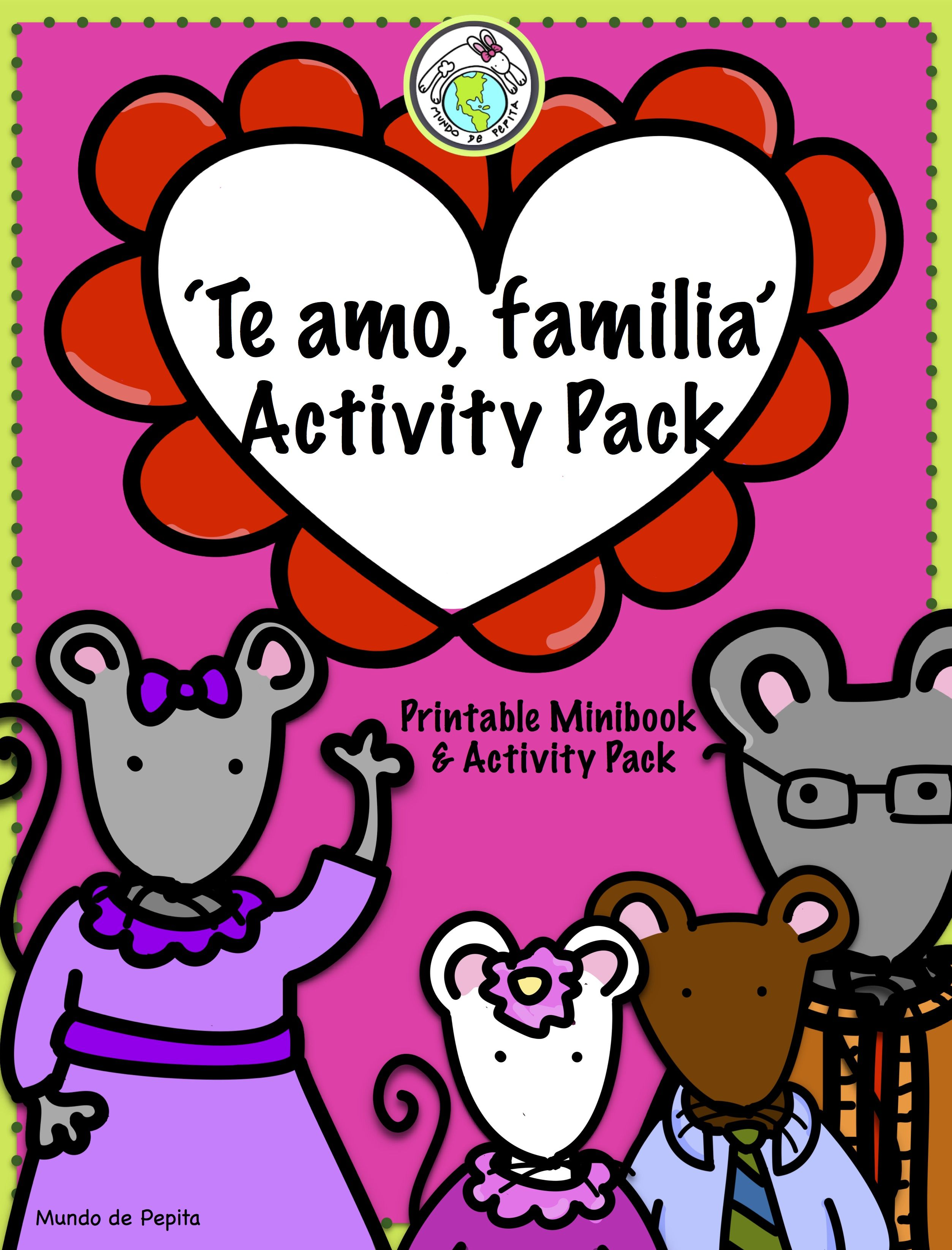 Valentines Day I Love You Family Minibook And Activity -3897