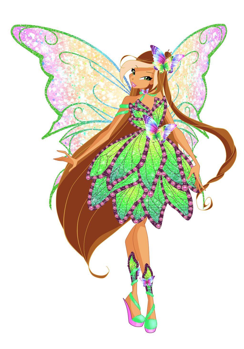 Deviantart coloring clubs - Deviantart Coloring Clubs Winx Butterflyix Flora By Bloom2 Deviantart Com On Deviantart