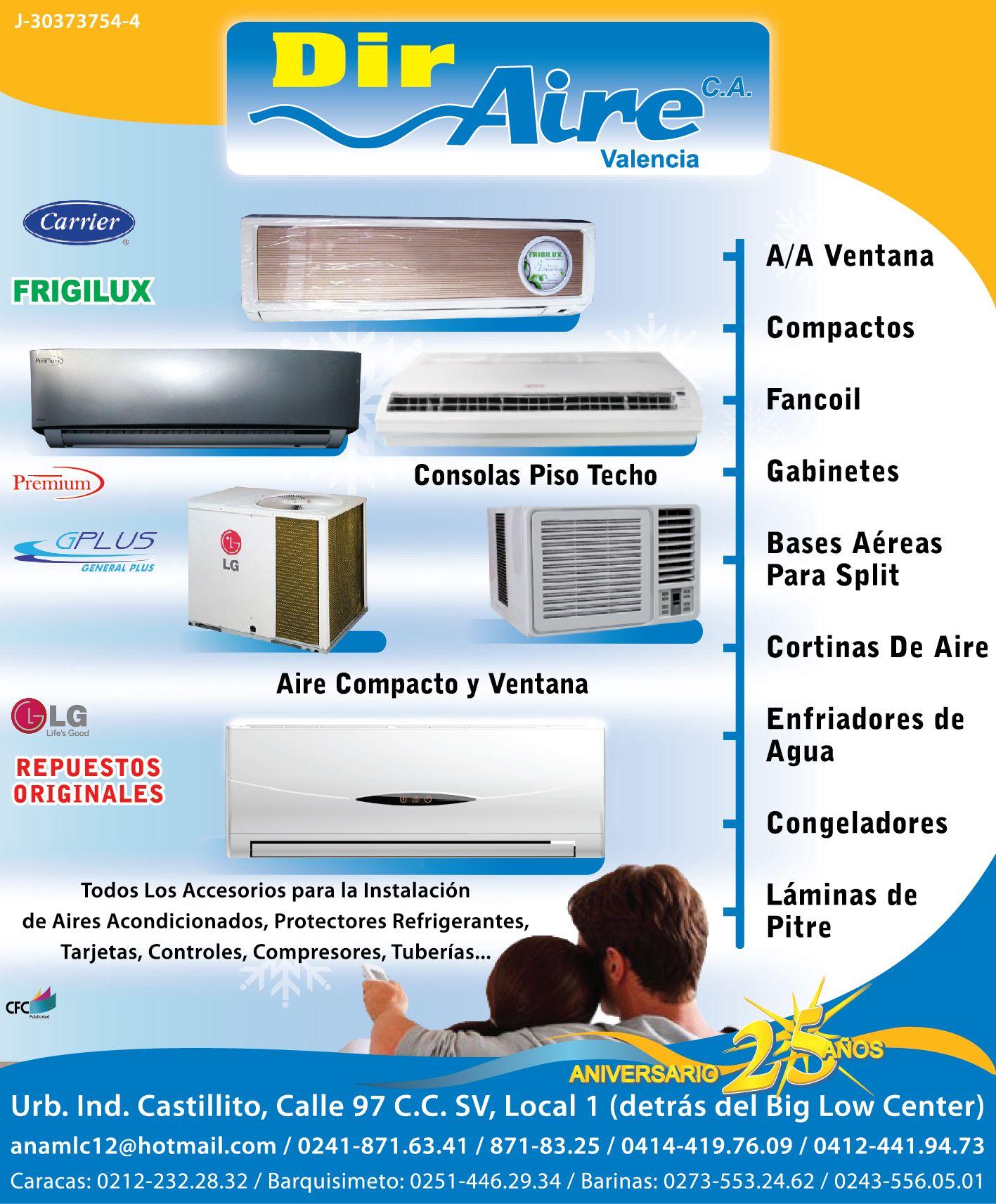 Dir Aire Repuestos Equipos de Refrigeración y Aire