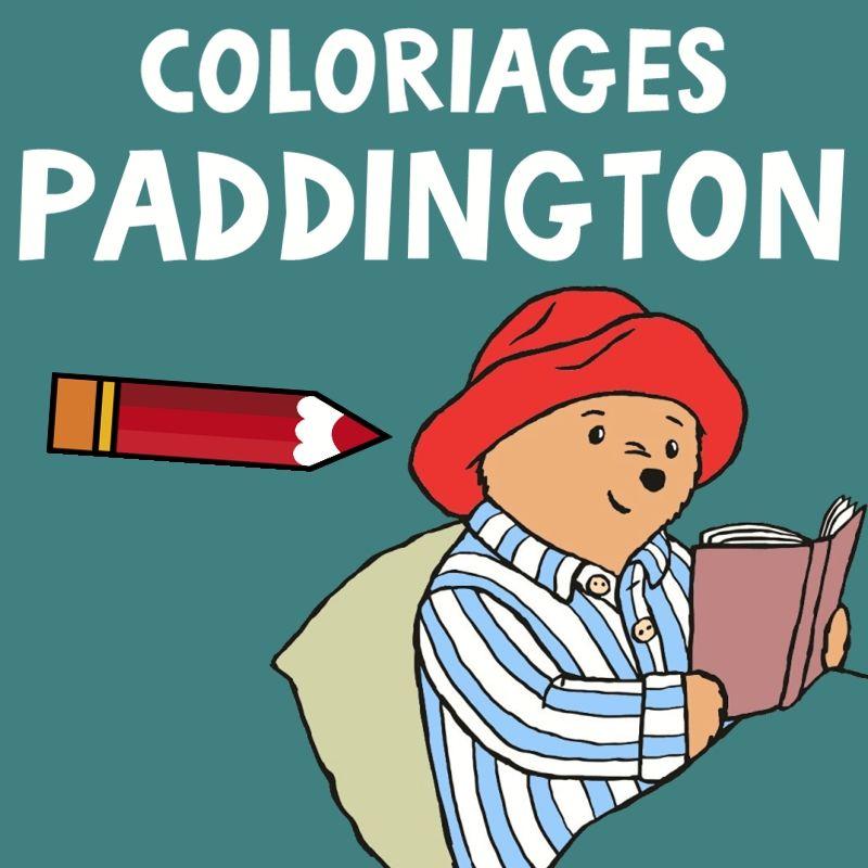 Coloriage Paddington 22 Dessins à Imprimer Gratuitement