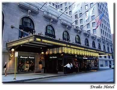The Drake Hotel In Chicago Illinois Is A Which Overlooks Lake Michigan Set On Famous Magnificent Mile And Was Built