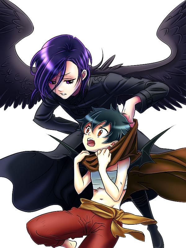 Lucifer, Satan, Sadao Maou Interesting art, Anime, Art