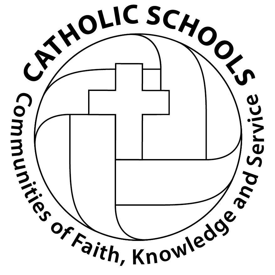 13 14 Csw Logo Circle Outline Jpg 877 880 Pixels Catholic Schools Week School Week Catholic School
