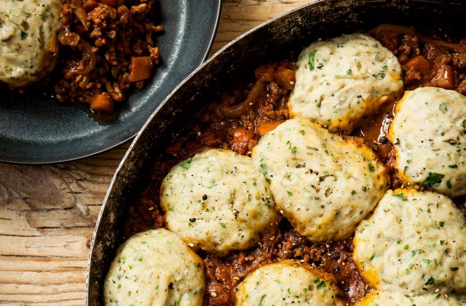 Hairy Bikers Mince And Herby Dumplings Recipe Minced Beef