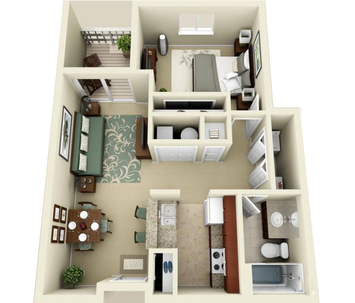 Luxury 1 2 And 3 Bedroom Apartments In Indianapolis In Indianapolis Indiana Apartment Sims House Design Interior Design Plan Architectural Floor Plans