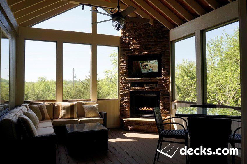 Decks Com Inspiring Outdoor Spaces Gable Roof Porch Inspiring Outdoor Spaces Backyard Patio Designs