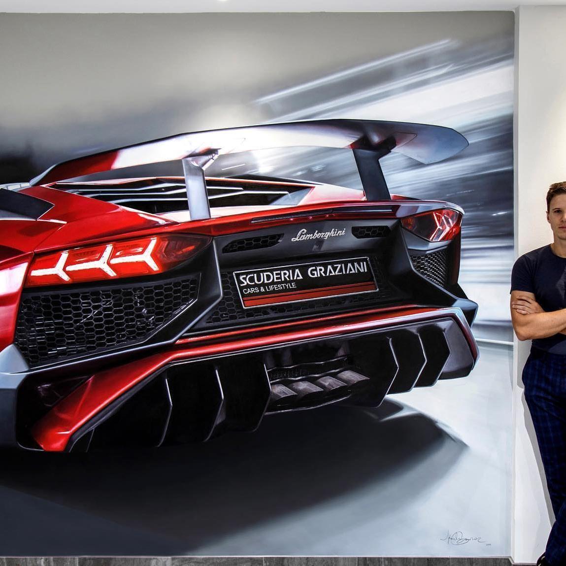 Full size LAMBORGHINI SV oil painting on wall... ——— P R O G R E S S  @karolis_grei  @scuderiagraziani @lamborghini #drive #lamborghini #art #artist #drawings #project @drawtodrive #painting #paint #insta #passion #cars #oilpainting #lamborghin #lamborghinisv Full size LAMBORGHINI SV oil painting on wall... ——— P R O G R E S S  @karolis_grei  @scuderiagraziani @lamborghini #drive #lamborghini #art #artist #drawings #project @drawtodrive #painting #paint #insta #passion #cars #oilpain #lamborghinisv