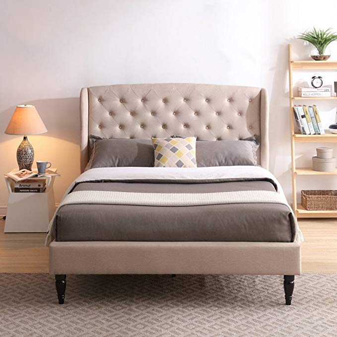 Amazon Com Coventry Upholstered Platform Bed Headboard And