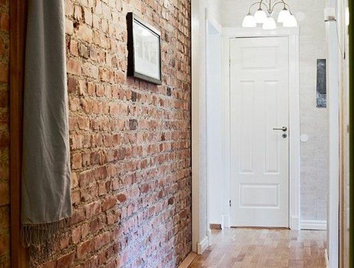 le mur en pierre apparente en 57 photos salle mur en. Black Bedroom Furniture Sets. Home Design Ideas