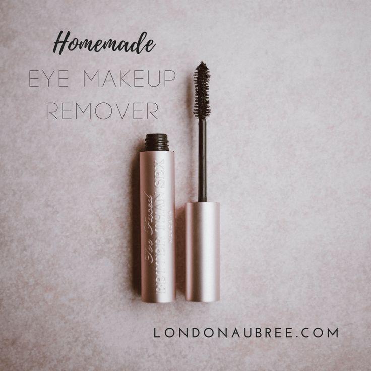 Homemade eye makeup remover allnatural diy beauty