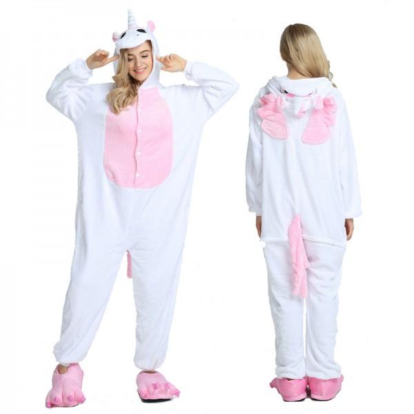 Pink Unicorn With Wings Onesie Pajamas Onesie Pajamas Pajamas Women Unicorn Onesie Pajamas