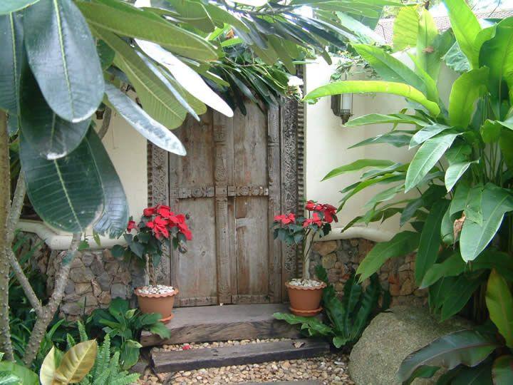 Old Thai door - the perfect entrance to a secret garden. & Old Thai door - the perfect entrance to a secret garden ... Pezcame.Com
