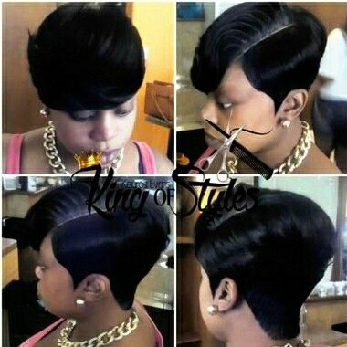 28 Pieces With Illusion Part Sassy Short Cutz Teenage Hairstyles Girl Hairstyles Short Hair Styles