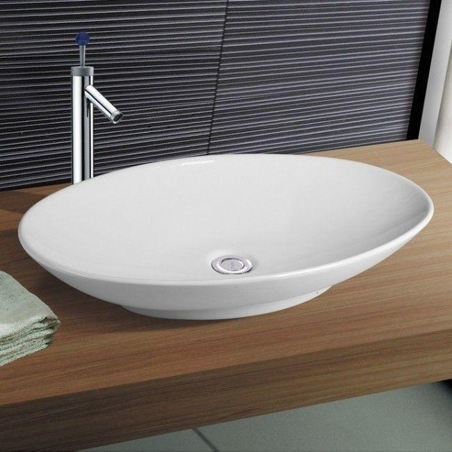 Neg Waschbecken Uno33a Gross Oval Aufsatz Waschschale Waschtisch