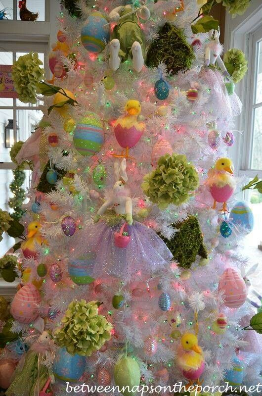 Easter tree Holiday trees Pinterest Easter, Holidays and - christmas clearance decor