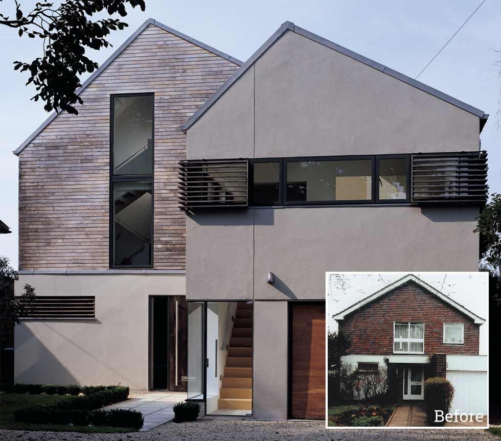 1960S Houses New A 1960S House Updated With New Facade And Eco Features  Kamenna Design Ideas