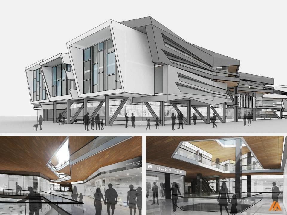 Imtiaz Ali Assocaites Modern Contemporary Architecture 3DConceptual Buildings
