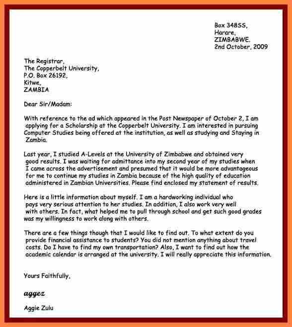 motivation letter sample pdf bursary application simple - resignation format