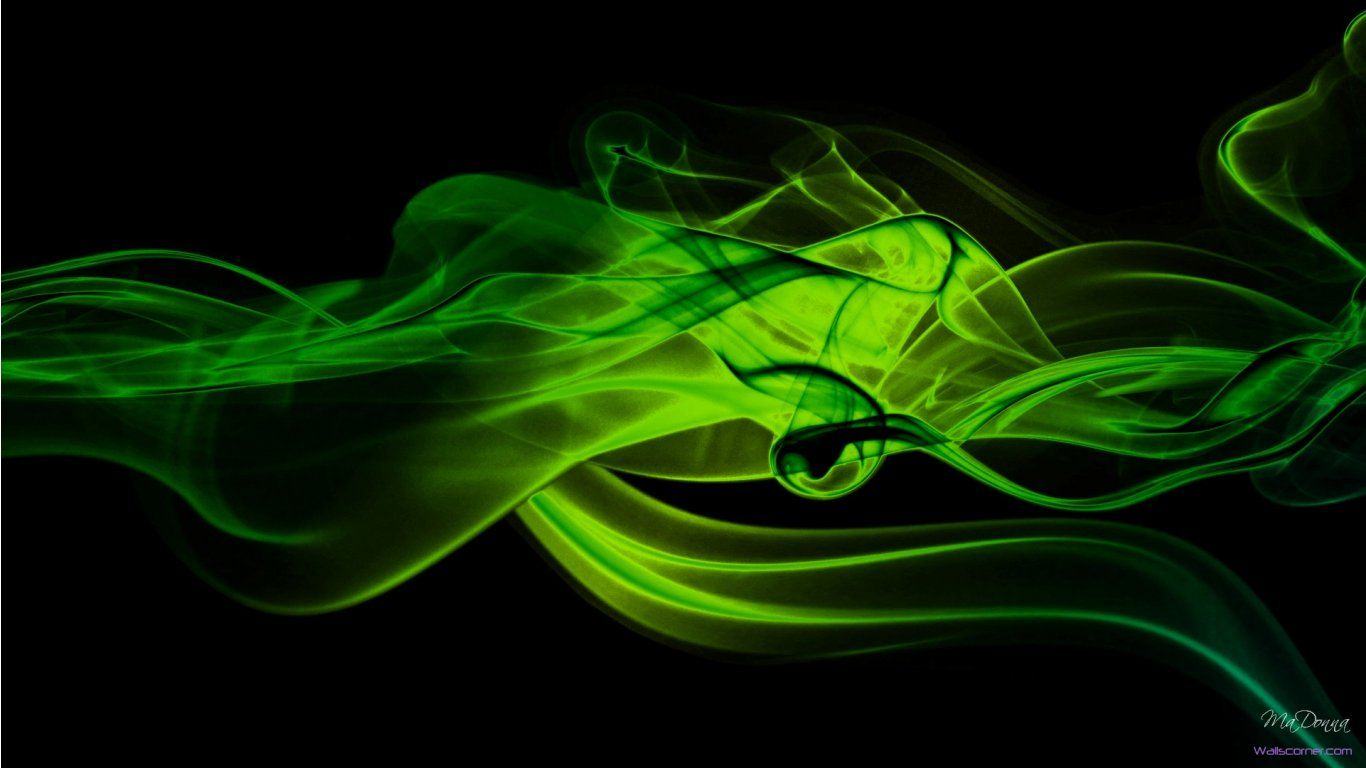 Black And Green Abstract Wallpaper Widescreen 2 Hd Wallpapers Lime Green Wallpaper Smoke Wallpaper Green Wallpaper