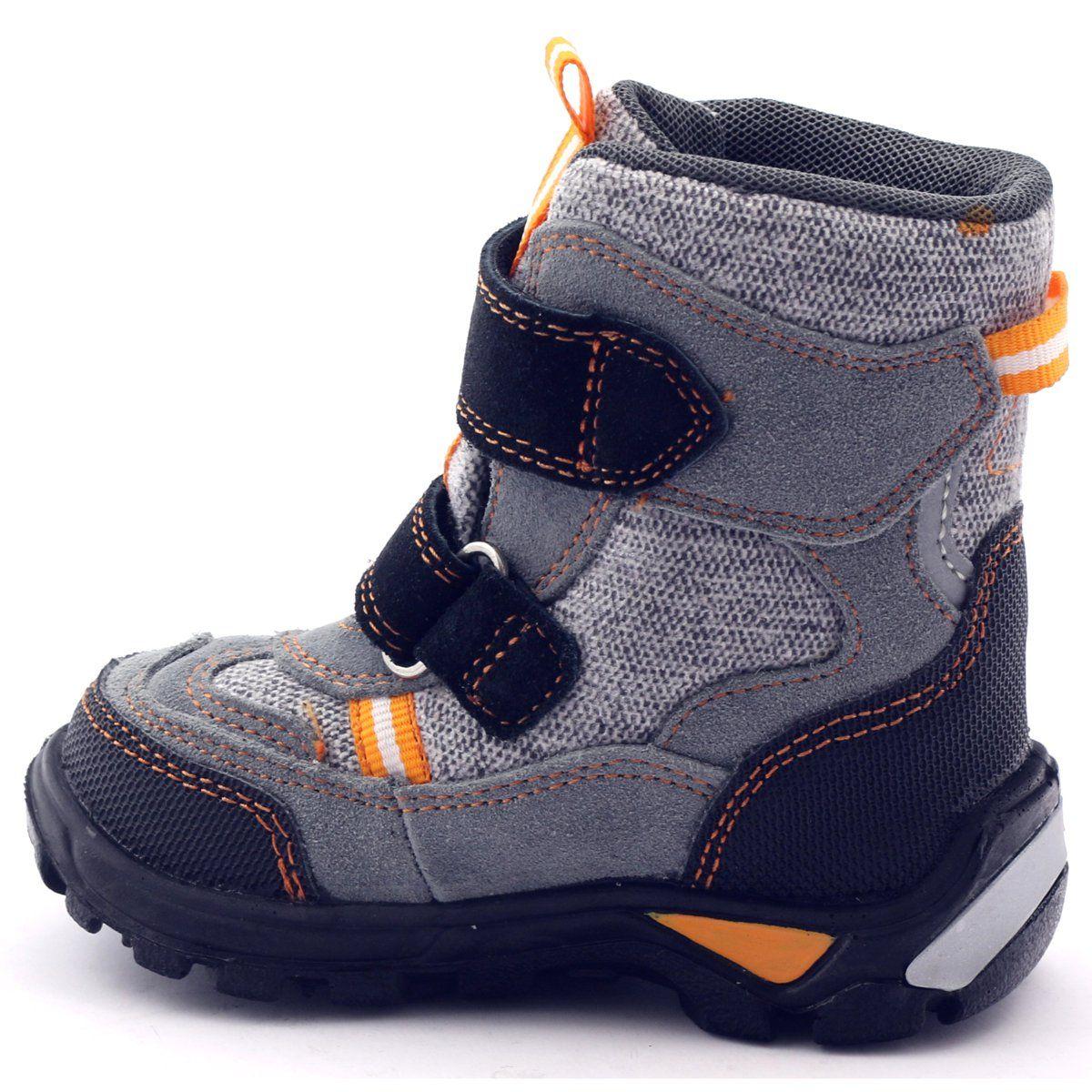 Trzewiki Z Membrana Bartek 91931 Szare Pomaranczowe Czarne Boots Hiking Boots Sneakers Nike