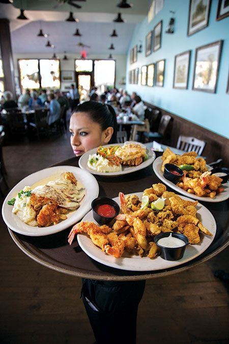 Dining On The Dock Of The Bay Best Restaurants South