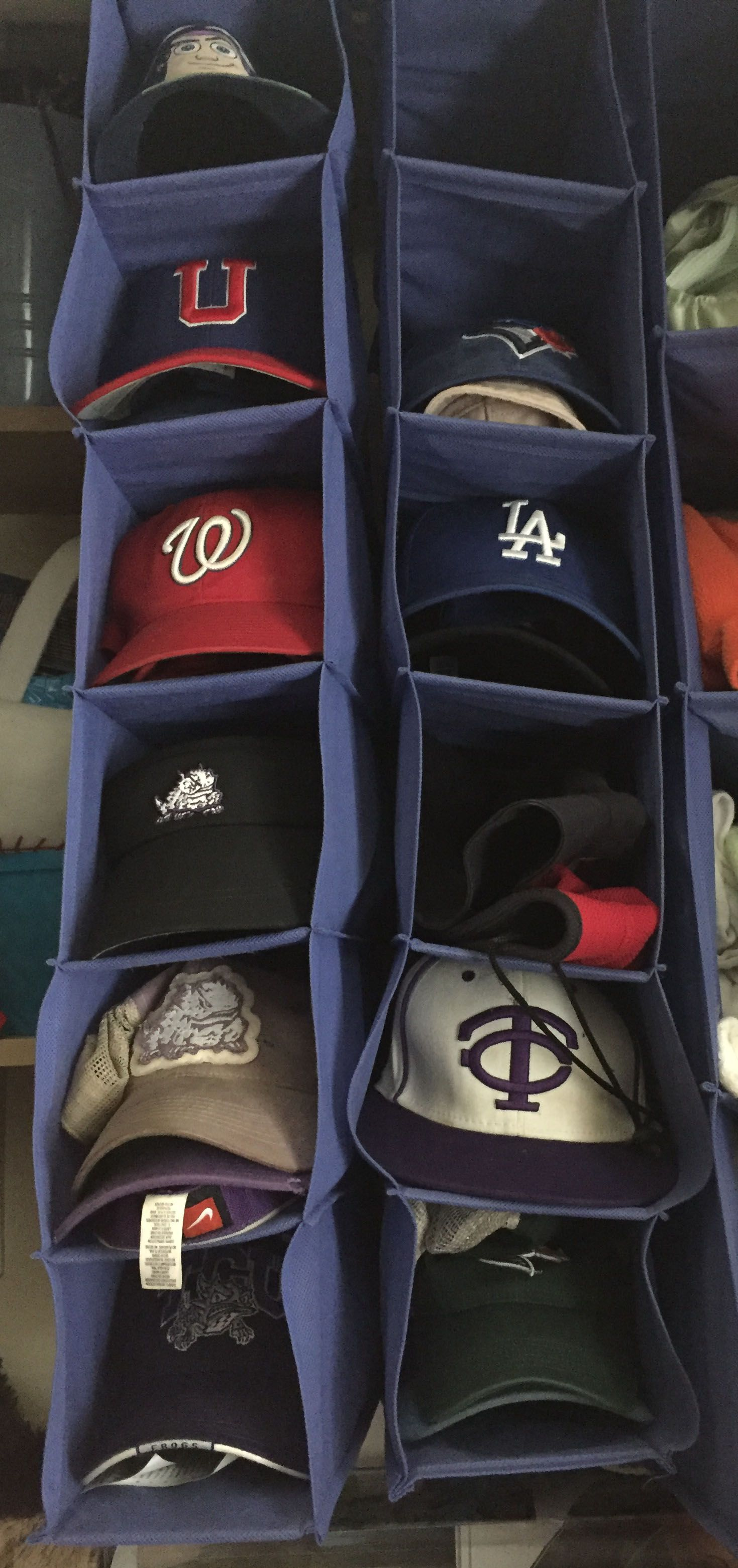 Delightful One Of The Simple Solutions For Hat Storage