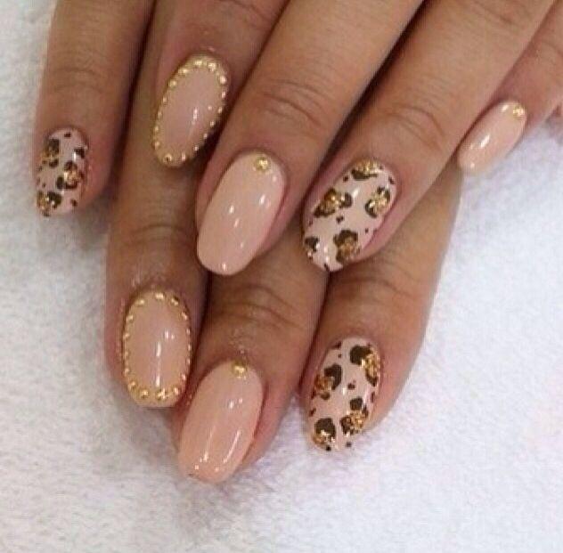 Cheetah and Tan Nail Design - Cheetah And Tan Nail Design N A I L S Pinterest Tan Nail