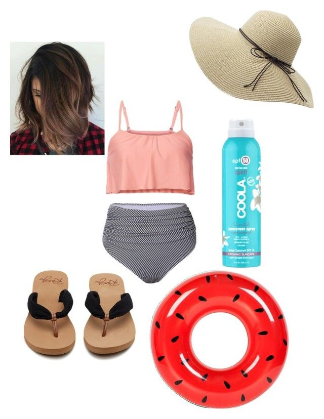 """""""Summer"""" by xxqueen476xx ❤ liked on Polyvore featuring COOLA Suncare and Sunnylife"""