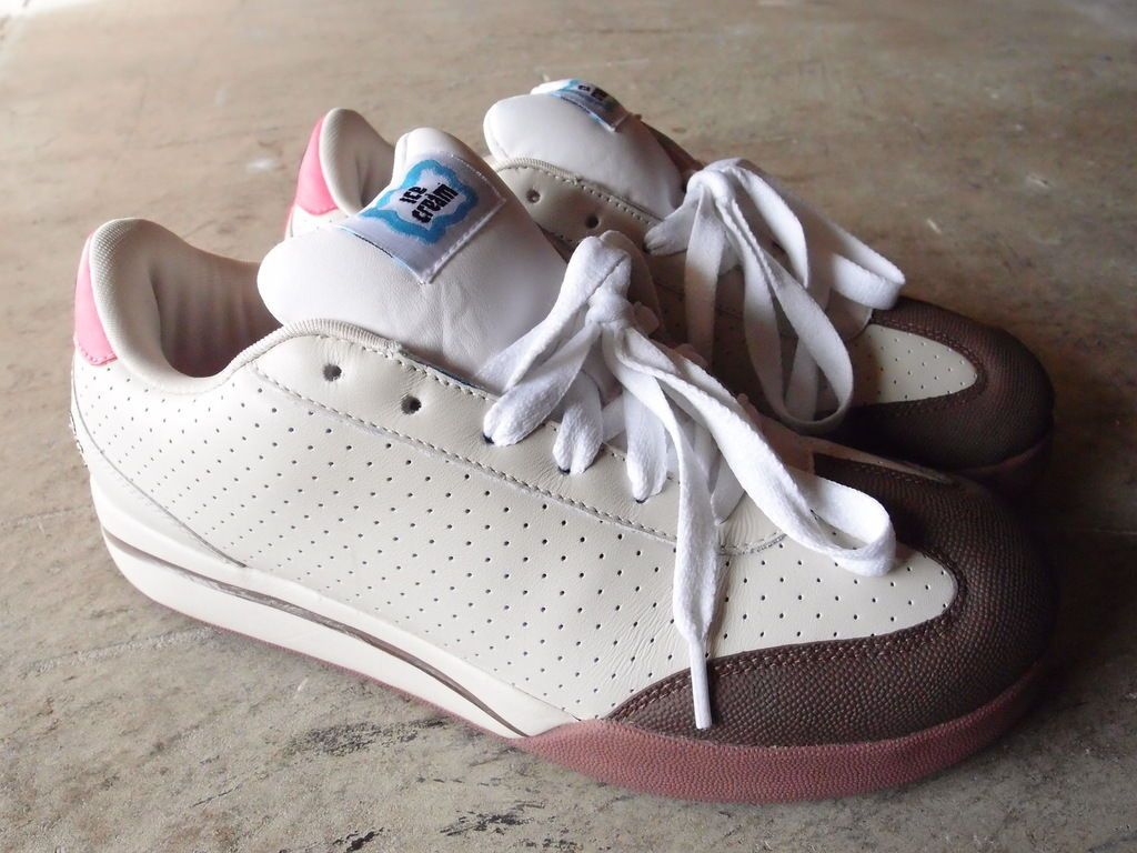 78db8af98 Vintage 2006 BBC Ice Cream Board Flip Skate Shoes Size 8 Reebok Pharrell  Bape