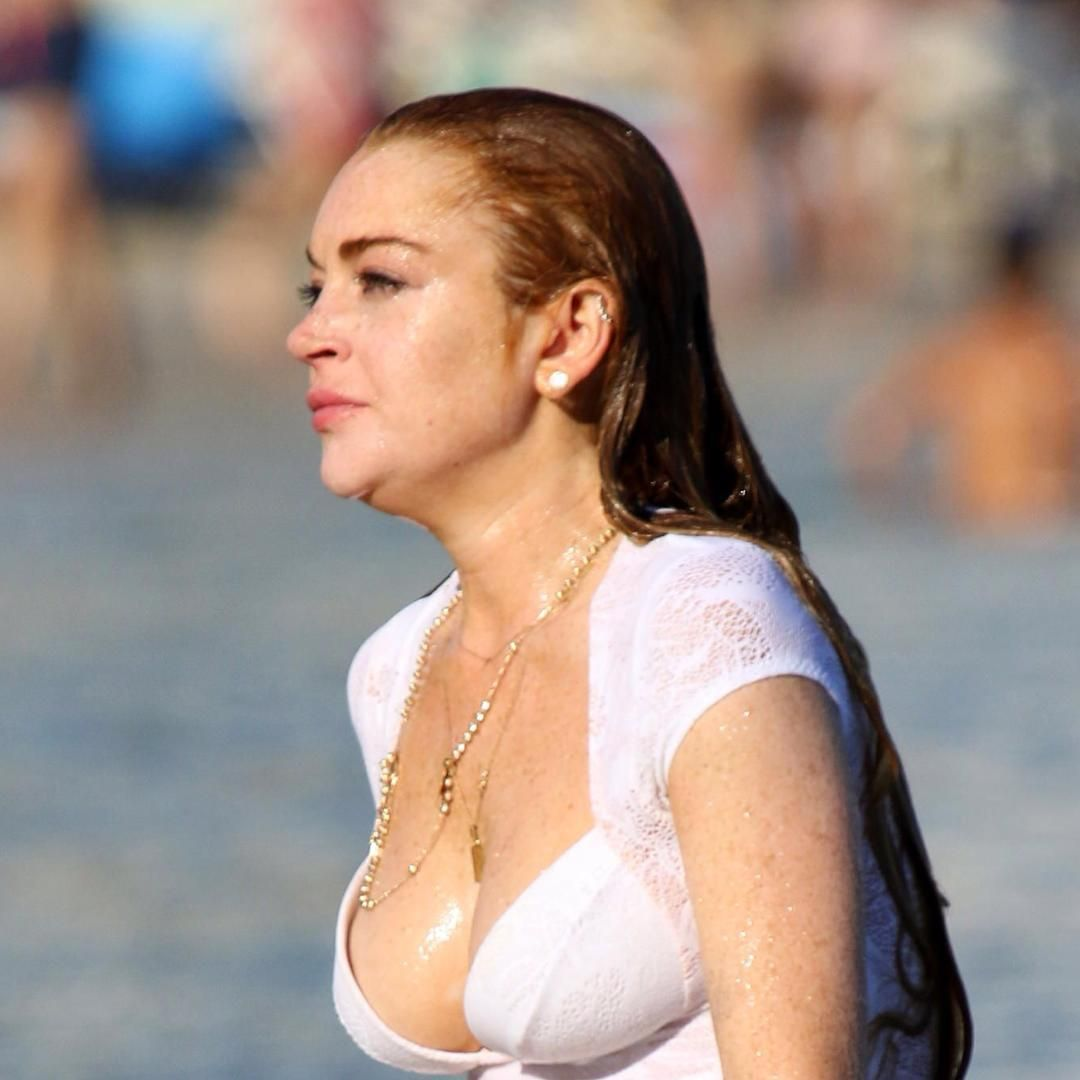 lindsaylohan #bustygirls #sexyy #hot #celebrities | lindsay lohan