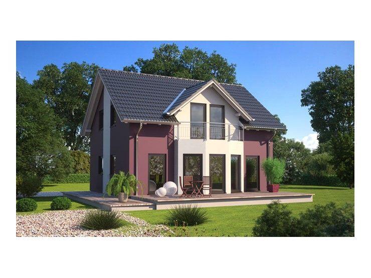 Fertighaus modern satteldach  Living 125 - #Einfamilienhaus von Hanlo Haus Vertriebsges. mbH ...