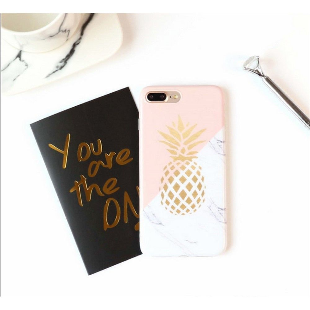 coque iphone 6 marbre ananas