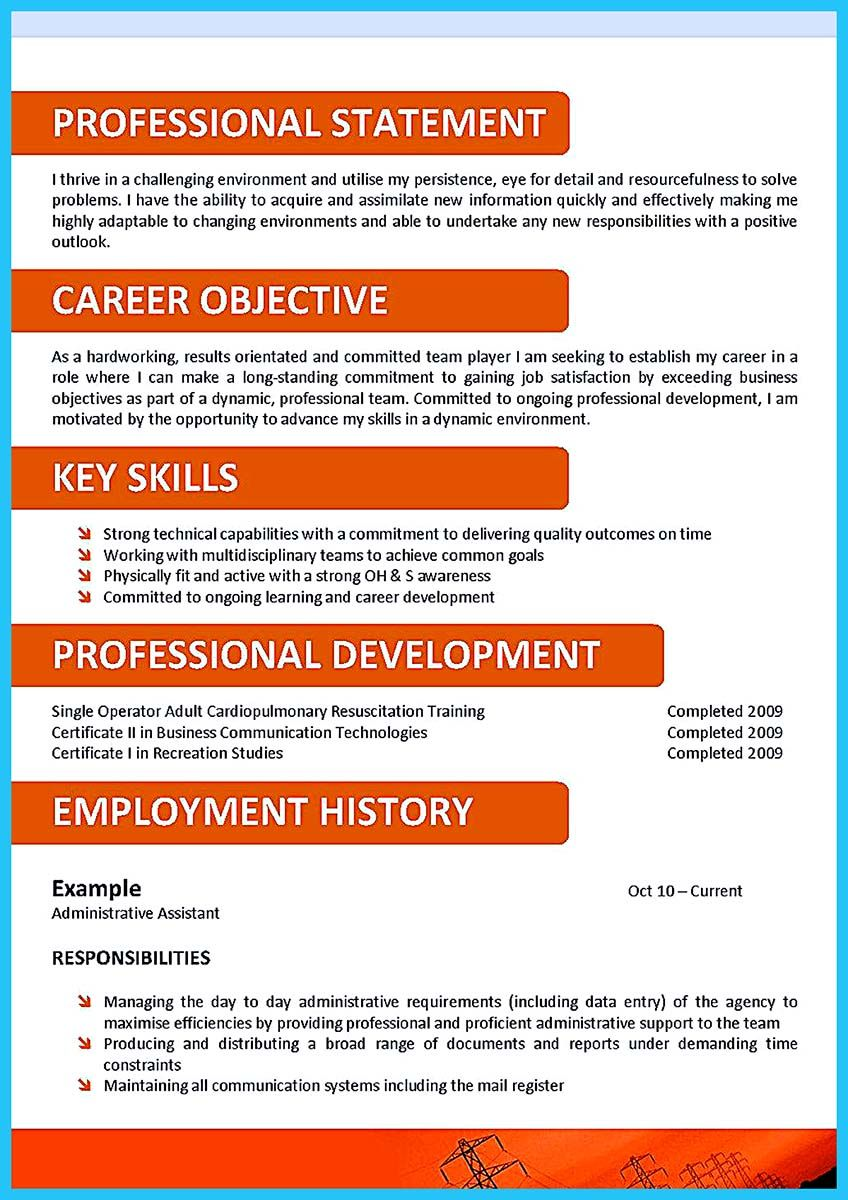 Sample Resume No Experience Gorgeous Awesome Impressing The Recruiters With Flawless Call Center Resume .