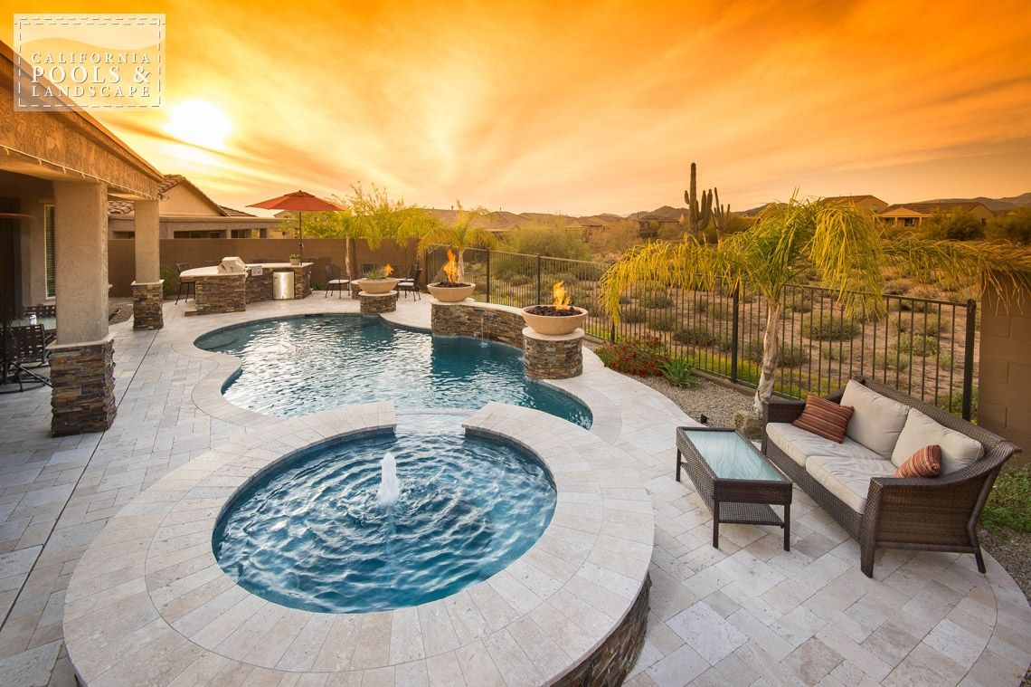 Arizona in ground swimming pool builders az lifestyle for Pool builders in az