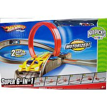 Hot Wheels Kidpicks Super 6 In 1 Track Set Mattel Toys R Us