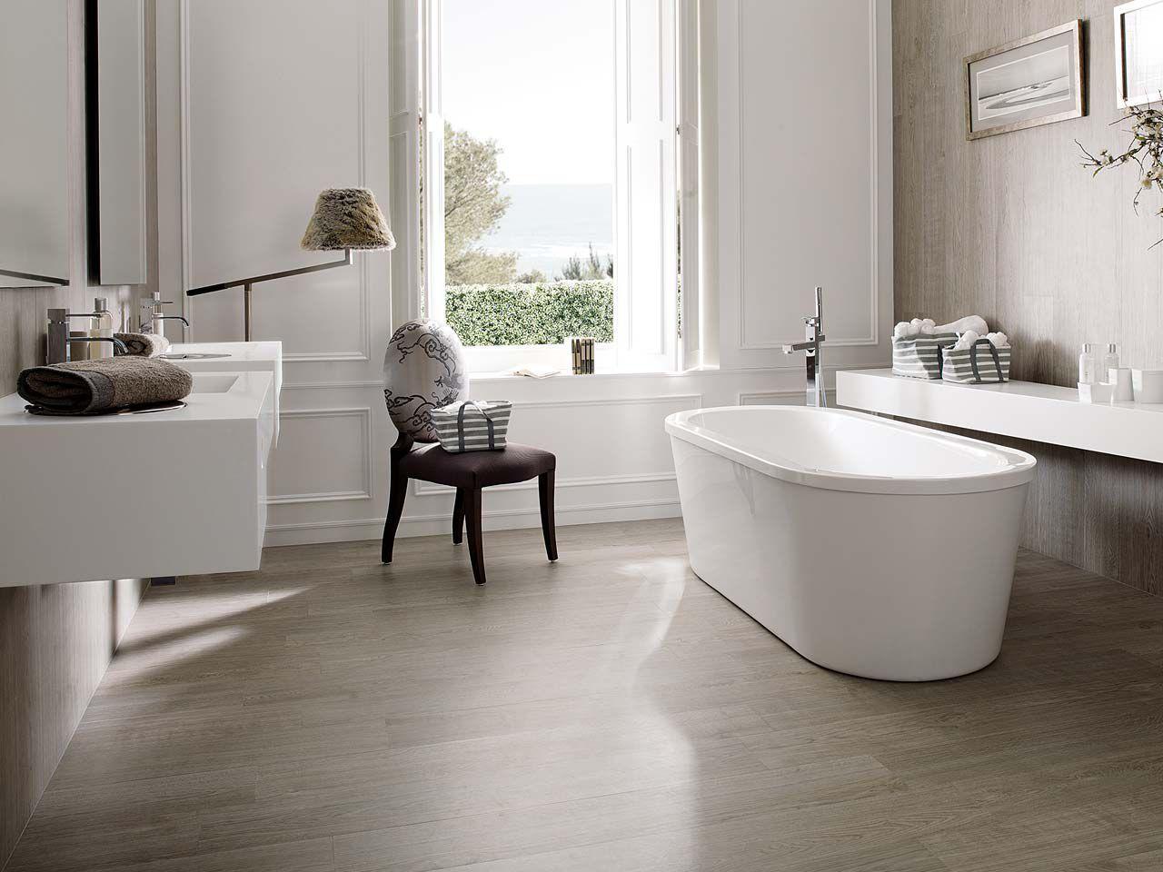 Bathroom tile / indoor / floor / porcelain stoneware PAR-KER ...