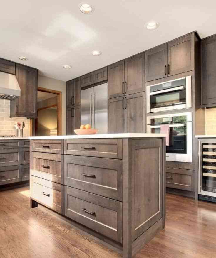 Kitchen Cabinet Stain Ideas: Best 20 Kitchen Cabinet Design Ideas To Reshape Your Space