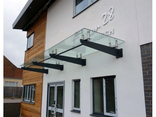 Glass Canopy Roofs Amp Tempered Glass Door Canopy Glass