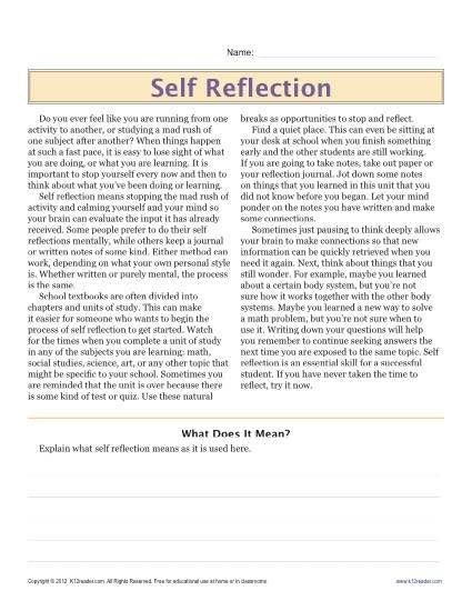 Sixth Grade Reading Comprehension Worksheet Reading Comprehension