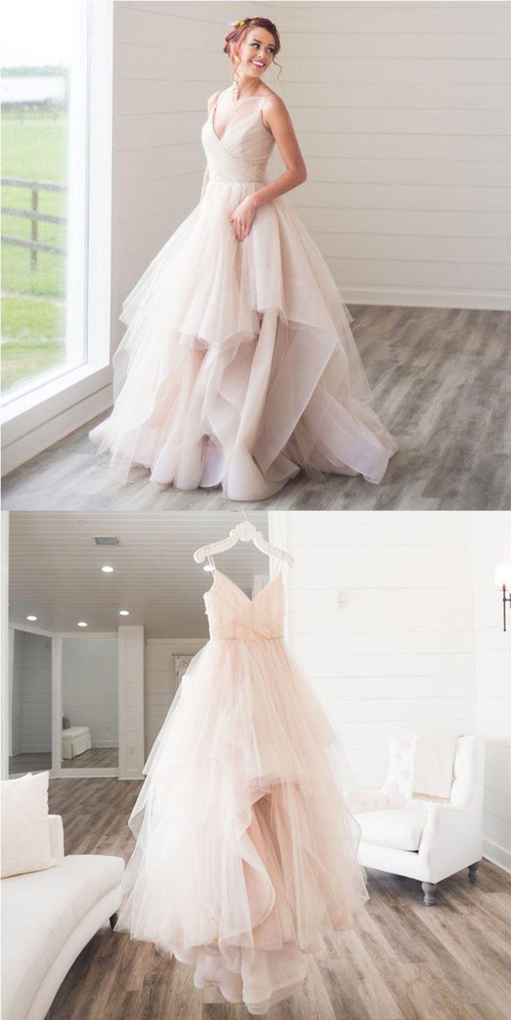Custom made v neck tulle long prom dress wedding dress customized