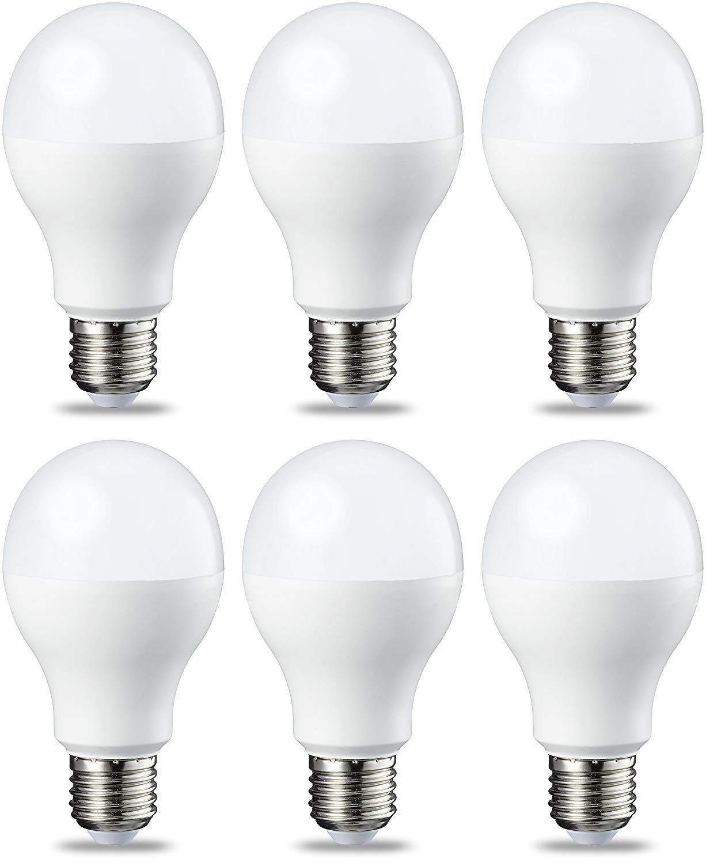 Amazonbasics Lampadina Led E27 14w Equivalenti A 100w Luce Bianca Calda Pacco Da 6 Amazon It Illuminazione Led Light Bulb Light Bulb Light Bulb Candle