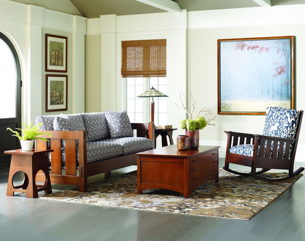 Stickley Mission Furniture Traditions At Home Mission Style Living Room Living Room Decor Colors Living Room Colors