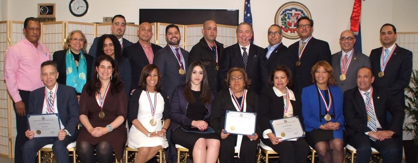 nice Consulado reconoce 19 dominicanos se destacaron en el exterior