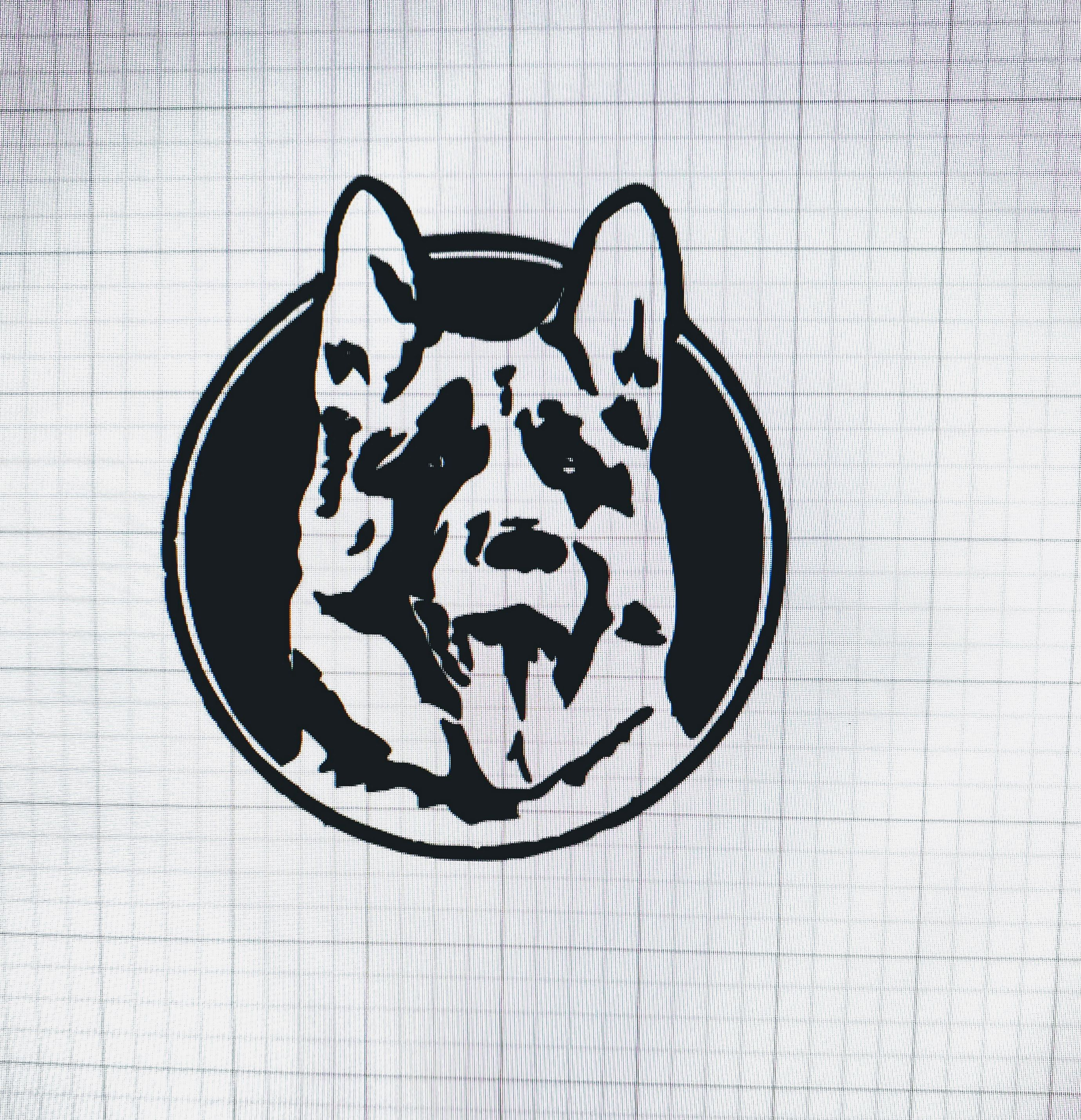 Excited To Share The Latest Addition To My Etsy Shop Letterkenny Inspired German Shepherd Letterkenny Inspired German Shepherd Tattoo Dog Decals Vinyl Decals [ 2859 x 2759 Pixel ]